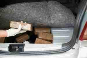 bricks of narcotics for drug trafficking