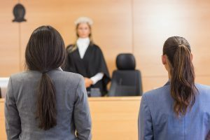 Standing before a Judge