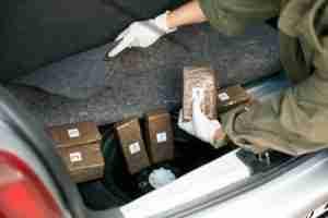Drugs in trunk of car