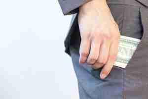 embezzling cash