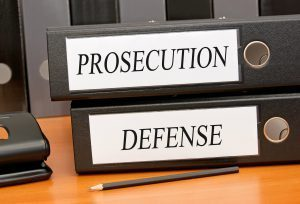 Prosecution and defense folders