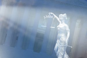 Lady Justice & Federal Courthouse