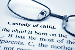 Child custody order