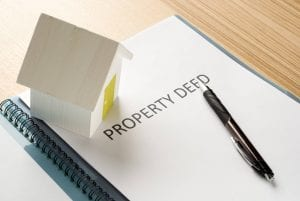 Image of a property deed